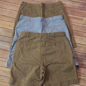 Saddlebred Shorts - 3 pair men's shorts size 34